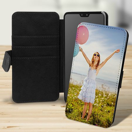 Huawei Mate 20 Flip-Case selbst gestalten mit eigenem Foto - Hochformat -  Ohne Vorlage gestalten